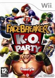 facebreaker k.o party (nordic) - wii