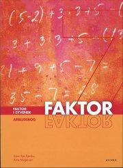faktor i syvende, arbejdsbog - bog