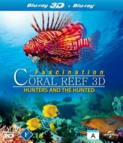 fascination coral reef - 3d hunters and the hunted - Blu-Ray