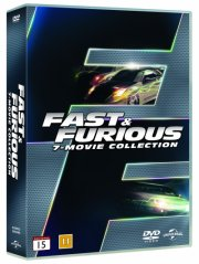 fast and furious 1-7 box set - DVD