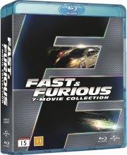 fast and furious 1-7 box set - Blu-Ray