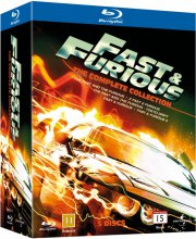 fast and furious 1-5 box set - Blu-Ray