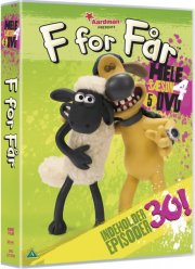 f for får / shaun the sheep - sæson 4 - DVD