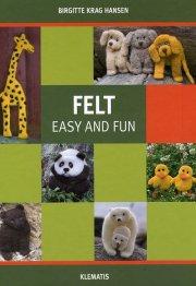 felt - easy and fun - bog