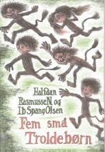 fem små troldebørn - bog