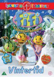 fifi and the flowertots / fifi og blomsterbørnene - vintertid - DVD