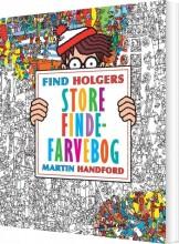 find holgers store finde-farvebog - bog