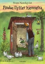 peddersen: findus flytter hjemmefra - bog