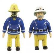 brandmand sam / fireman sam figurer - 2 stk - Figurer