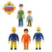 brandmand sam figurer - 5 stk - Figurer