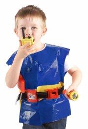 brandmand sam - bælte med jakke og tilbehør - Udklædning