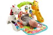 fisher price aktivitetstæppe / legetæppe m. legetøj, musik og lyd - Babylegetøj