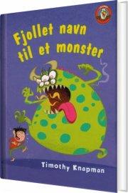 fjollet navn til et monster - bog