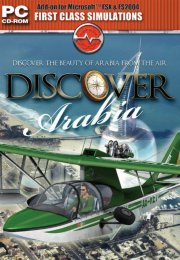 flight simulator x - discover arabia - udvidelse - PC