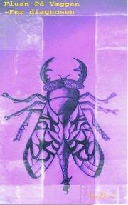 fluen på væggen - bog