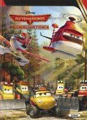 disney: flyvemaskiner 2 redningsaktionen billedbog - bog