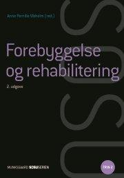 forebyggelse og rehabilitering - bog