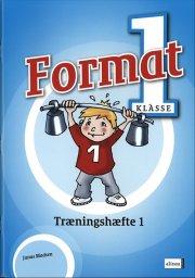 format 1.kl. træningshæfte 1 - bog