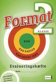 format 2.kl. evalueringshæfte - bog