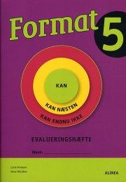 format 5, evaluringshæfte - bog