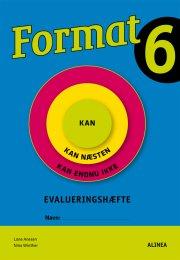 format 6.kl. evalueringshæfte - bog