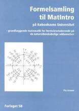 formelsamling til matintro på københavns universitet - bog