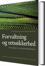 forvaltning og retssikkerhed - bog