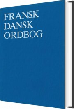 fransk-dansk ordbog - bog