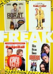 freak collection box - borat / kontorrotter / dodgeball / airheads - DVD