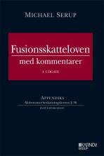 fusionsskatteloven med kommentarer - bog