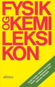 fysik og kemileksikon - bog