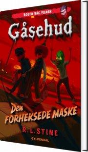 gåsehud - den forheksede maske - bog