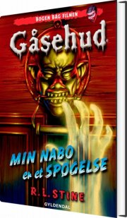 gåsehud - min nabo er et spøgelse - bog