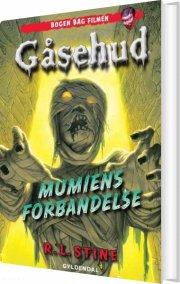 gåsehud - mumiens forbandelse - bog