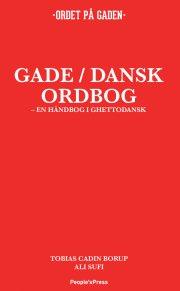 gade / dansk ordbog - bog
