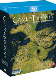 game of thrones - sæson 1-3 - hbo - Blu-Ray