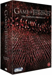 game of thrones - sæson 1-4 - DVD