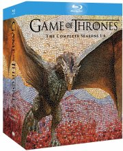 game of thrones - sæson 1-6 - Blu-Ray