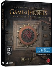 game of thrones - sæson 5 - limited steelbook edition - hbo - Blu-Ray