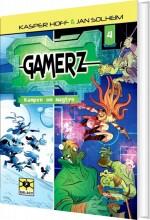 gamerz 4 - kampen om magten - bog