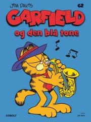 garfield 62: garfield og den blå tone - bog