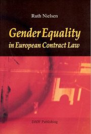 gender equality in european contract law - bog
