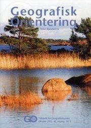 geografisk orientering 2012 -6 - bog