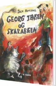 georg jensen og skarabæen - bog
