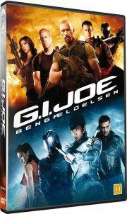 g.i. joe: gengældelsen - DVD