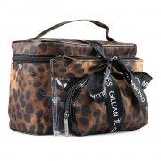 gillian jones - toilettaske / beauty boks 3i1 - leopard - Smykker Og Accessories