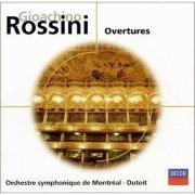 gioacchino rossini - overtures - cd