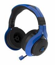 gioteck fl-300 bluetooth høretelefoner - blå - Tv Og Lyd