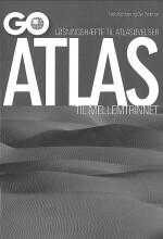 go atlas til mellemtrinnet - løsningshæfte til atlasøvelser - bog