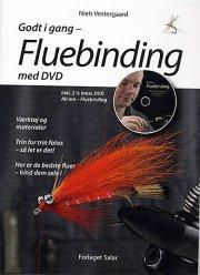 godt i gang - fluebinding m. dvd - bog
